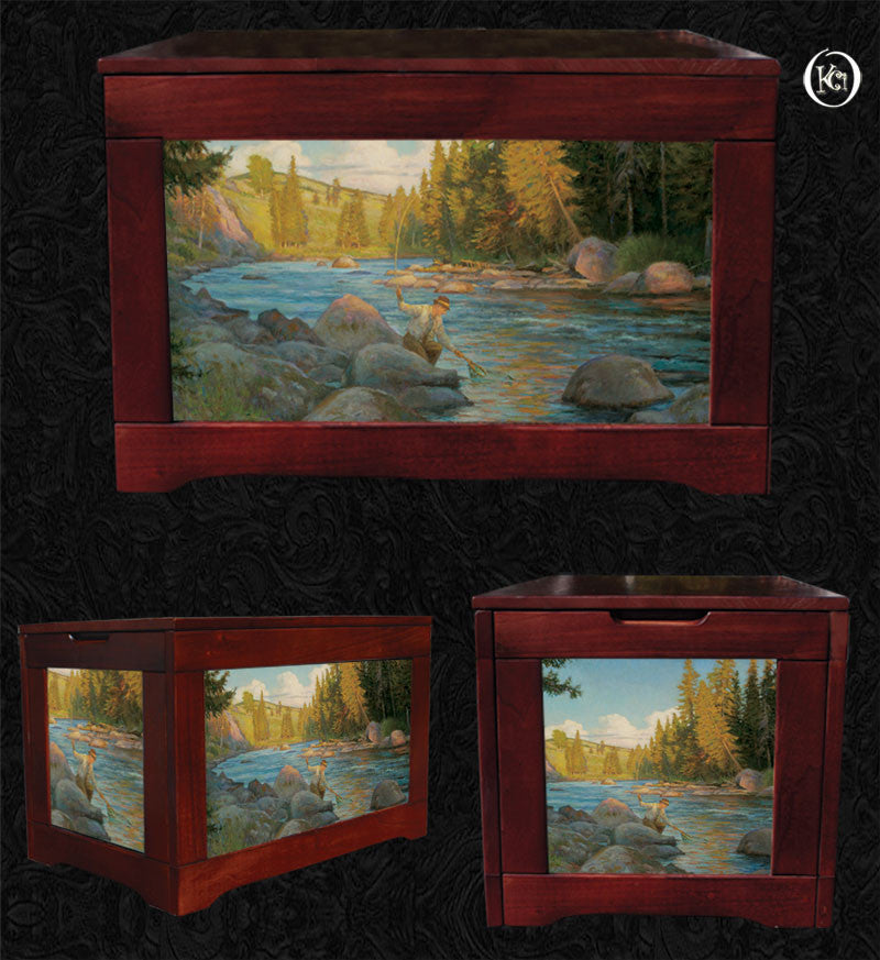 Fly Fishing Box-Fisherman's Song-Stroncek