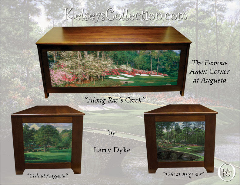 Golfers blanket chest wtih Augusta Amen Corner