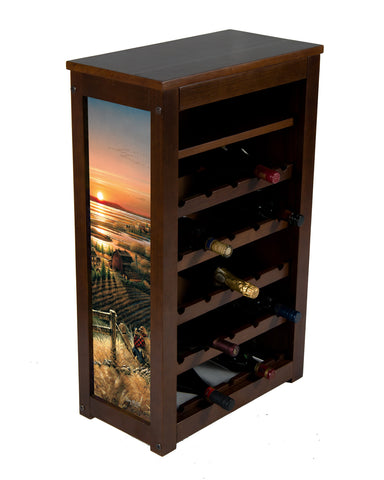 Best Friends wine Rack by Terry Redlin