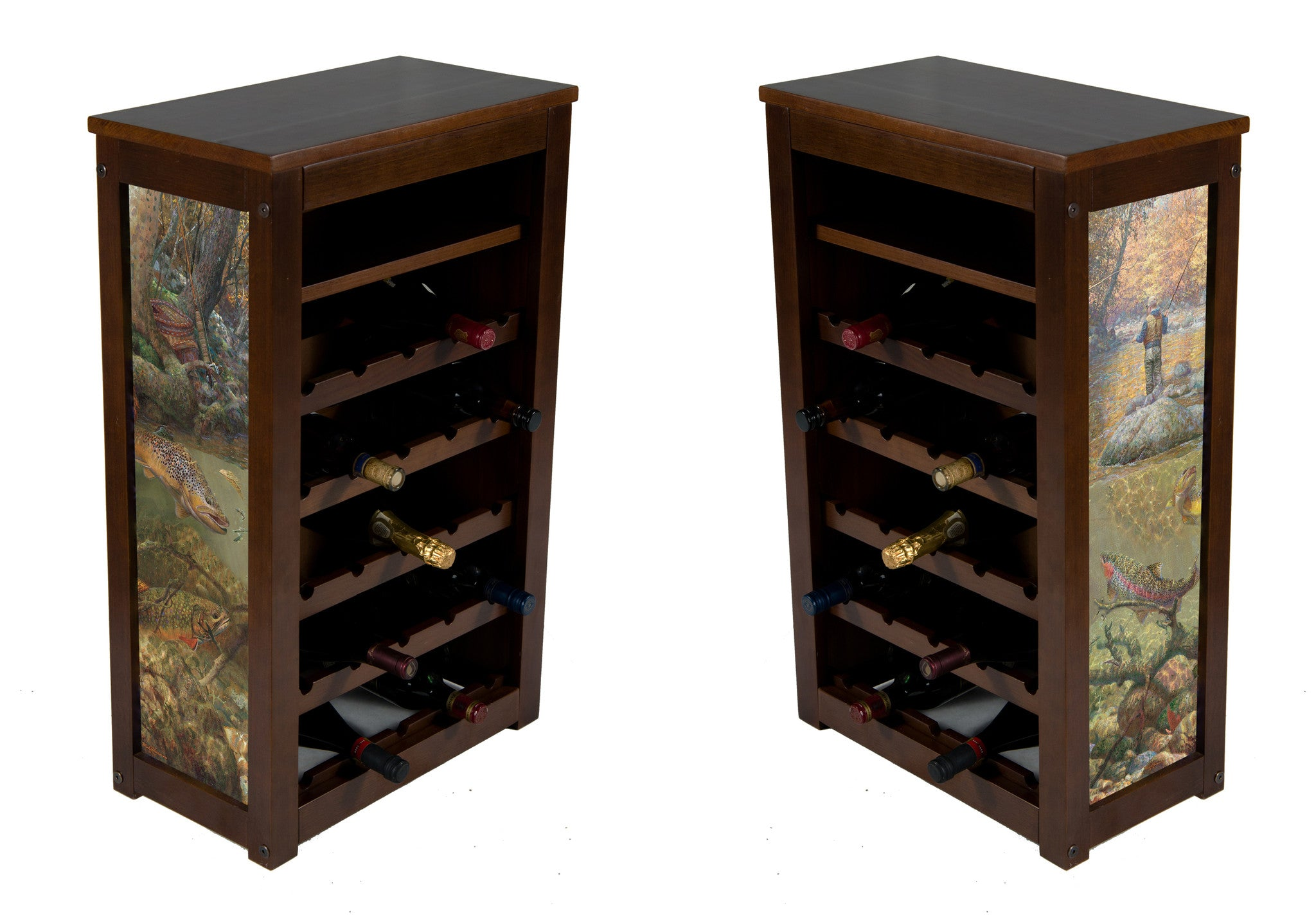 Mark Sussinno wine cabinet ! 25 bottles and shelf | Autumn Dream Day