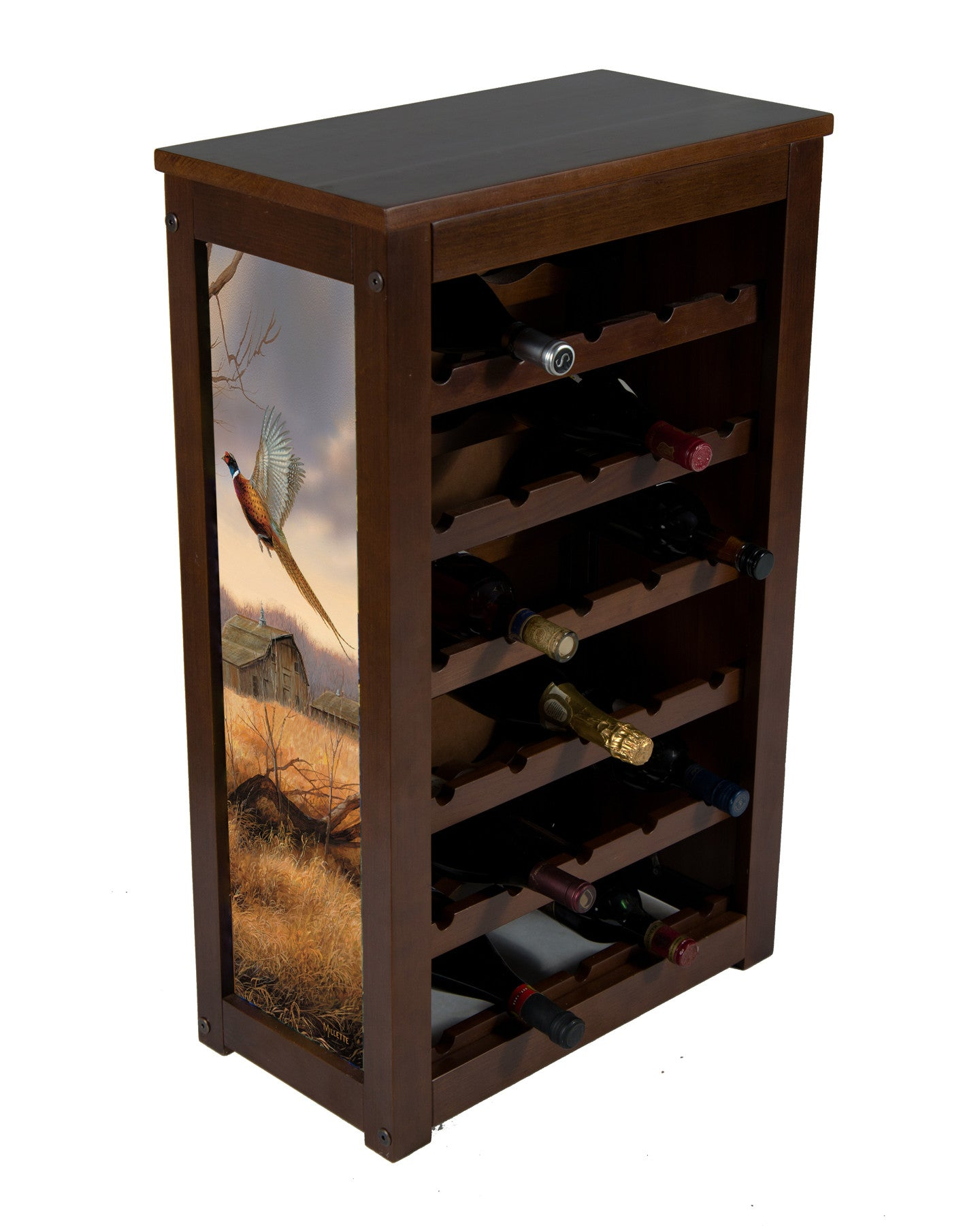 Wine Cabinet 25 bottles Prairie Wings