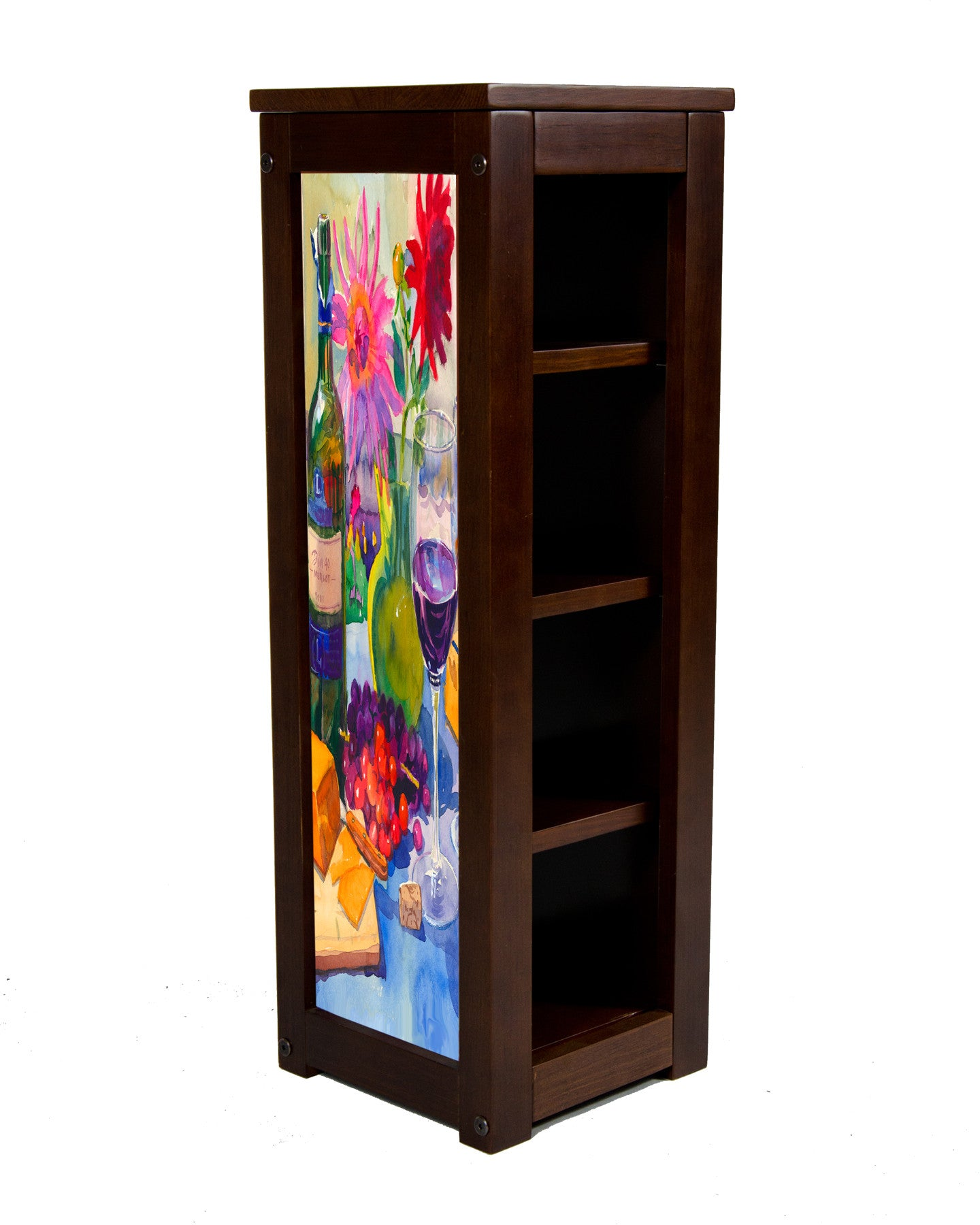 Merlot display case by  Kim Drew