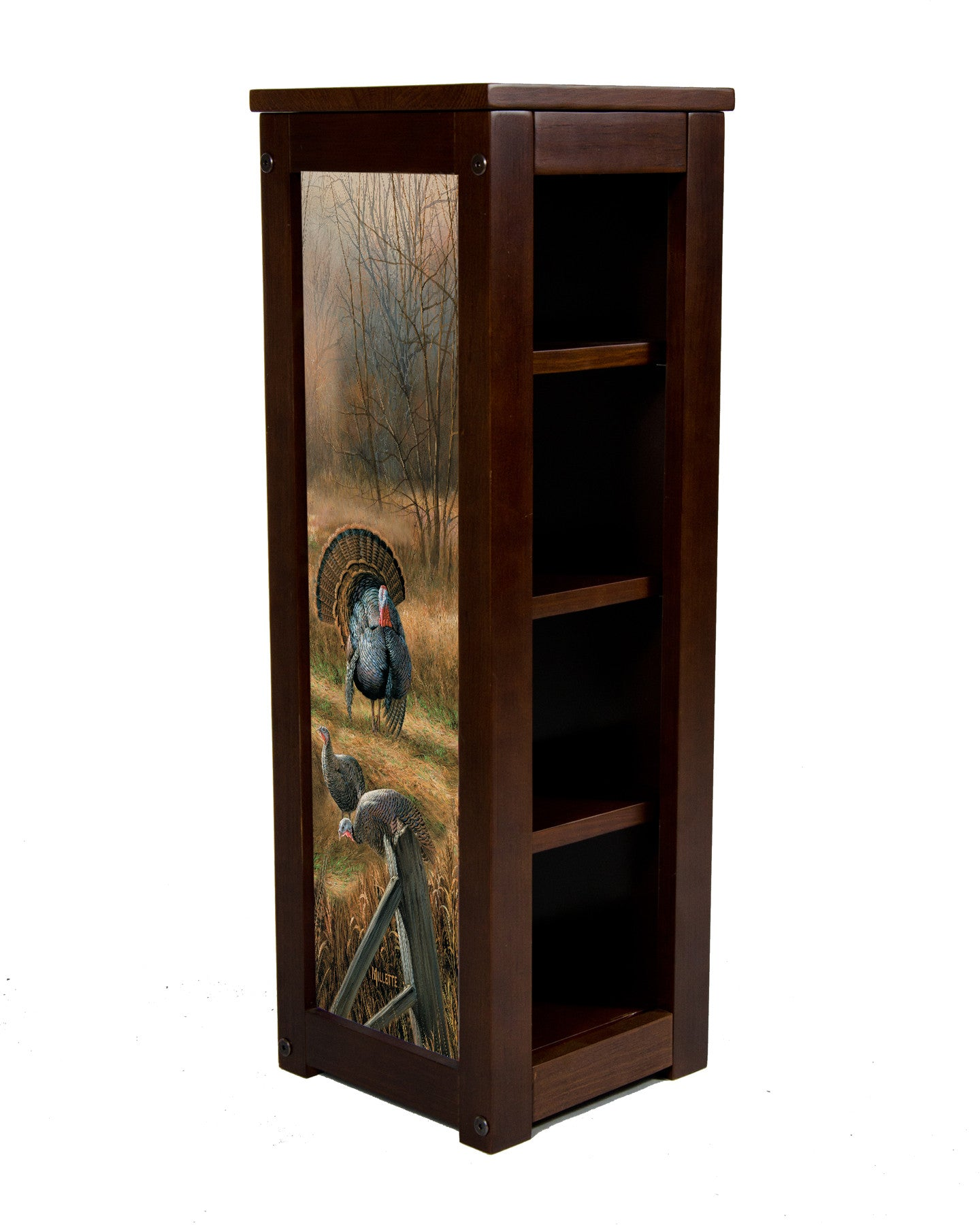 Wild Turkey Pedestal Stand-Backwoods Rendevous-Rosemary Millette