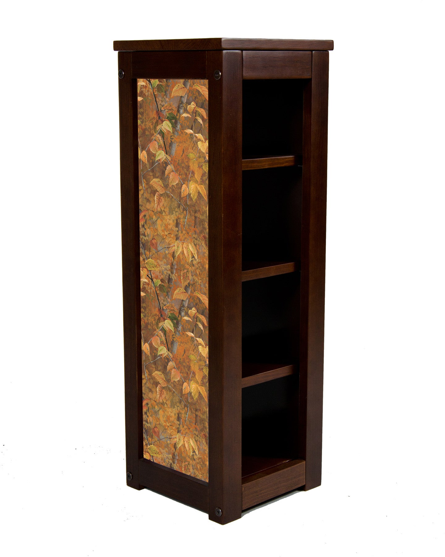Pedestal Stand-Shades of Autumn Leaves-Rosemary Millette