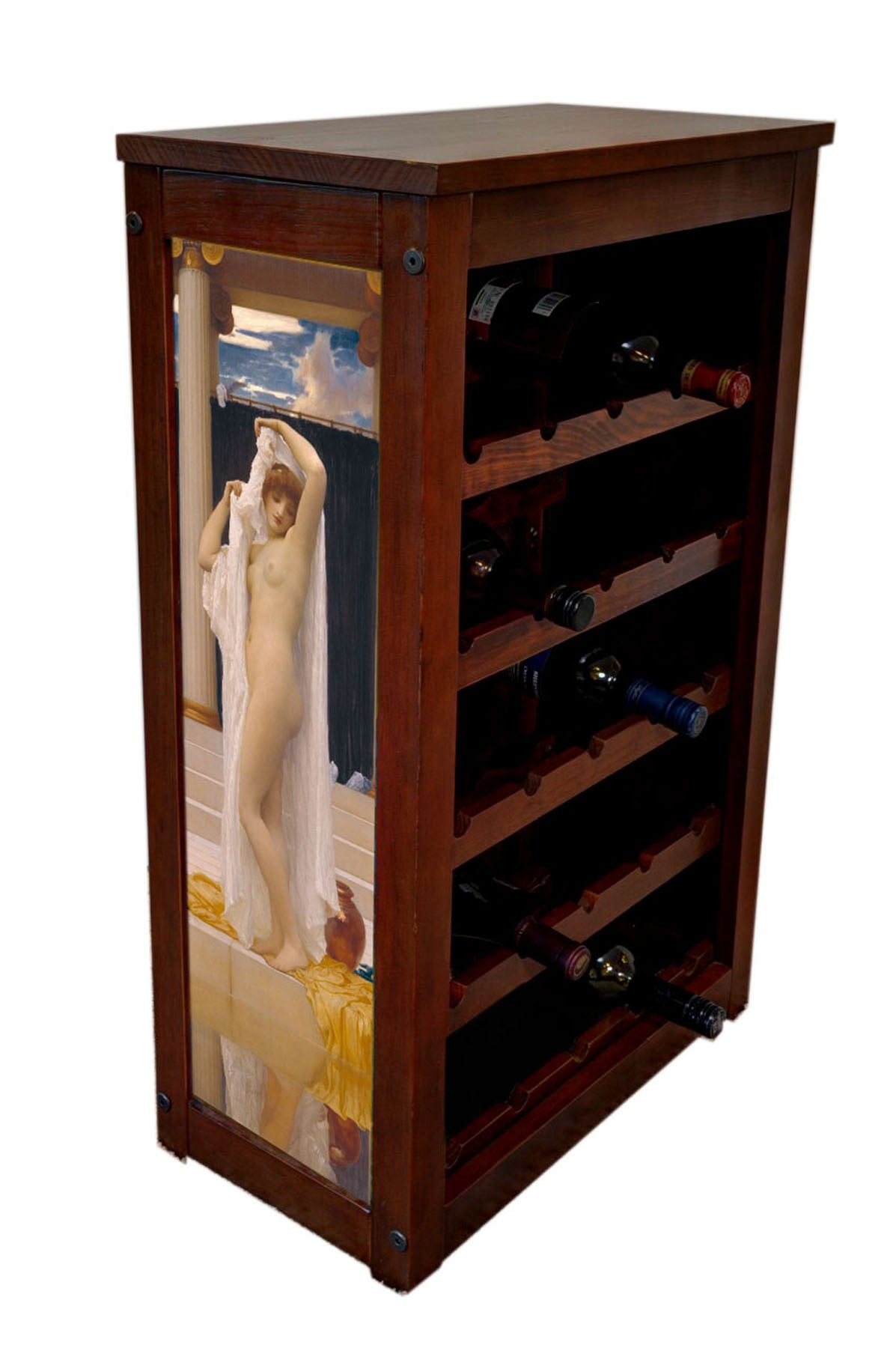 Nude Wine Cabinet-Bath of Psyche