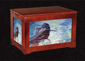 Fly Fisherman Box-Blend in Stone - AD Maddox