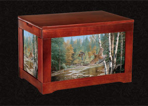 Ruffed Grouse Kindlingbox-Cascade Crossing