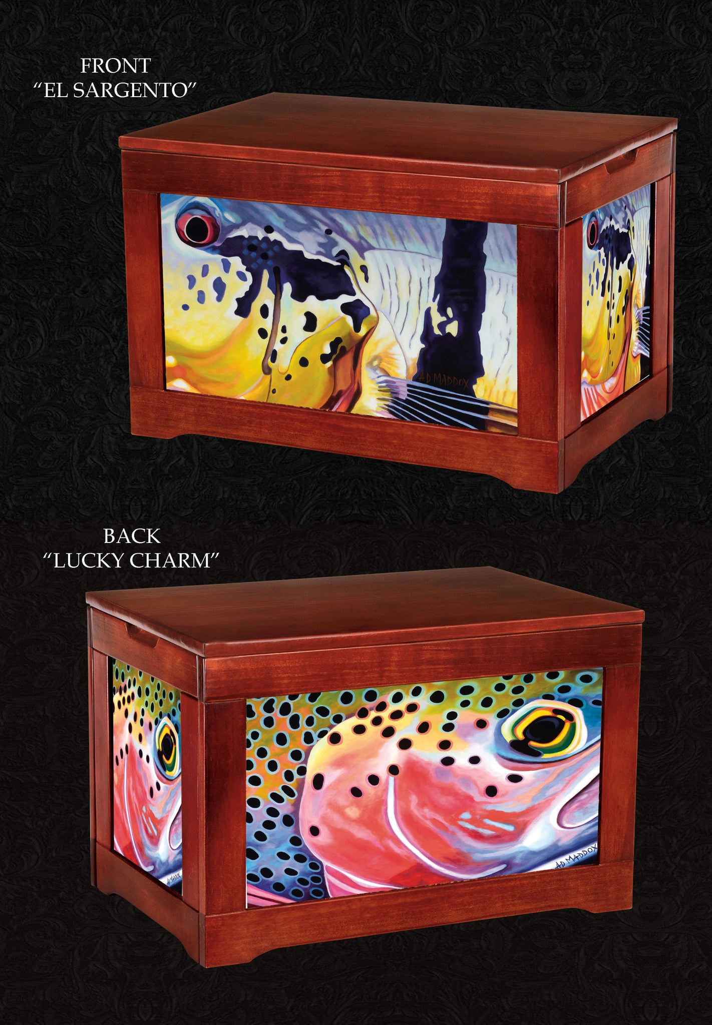 Fly Box Chest-Lucky Charm- AD Maddox