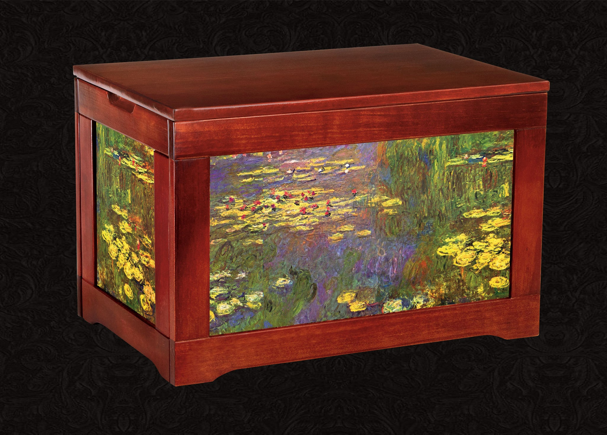 Sun Room Box-Lilies Nymphea-Monet