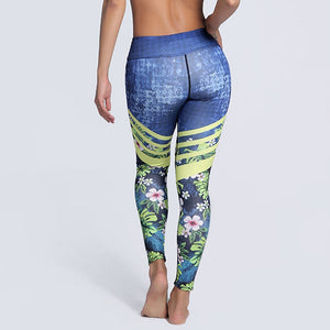Leggings estampados push-up HOPE - luxury-leggings