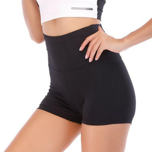 Shorts moldeadores Push Up con cintura envolvente y talle alto GLORY - luxury-leggings