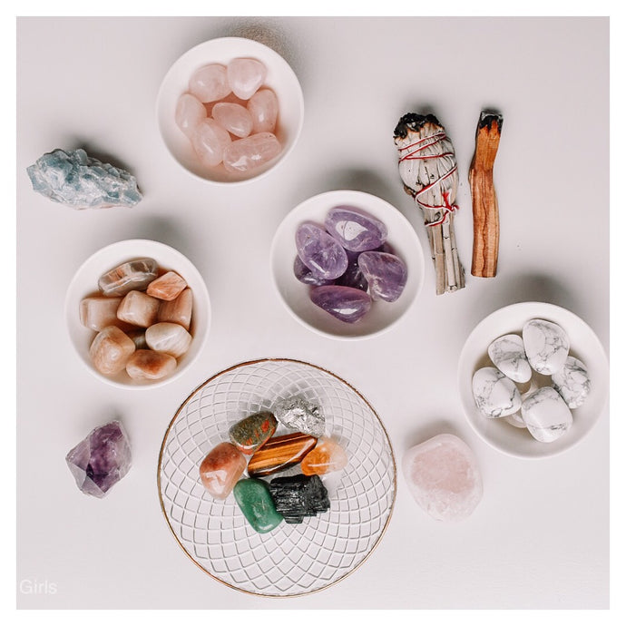How and why do I Cleanse and Charge my crystals?