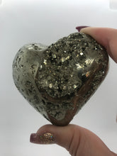 Load image into Gallery viewer, Pyrite Heart I