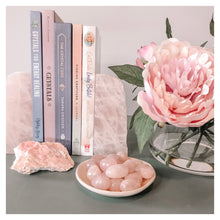 Load image into Gallery viewer, Rose Quartz Bookends III
