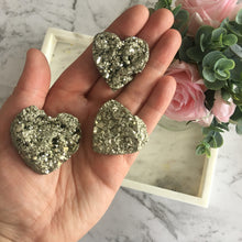 Load image into Gallery viewer, Pyrite Hearts