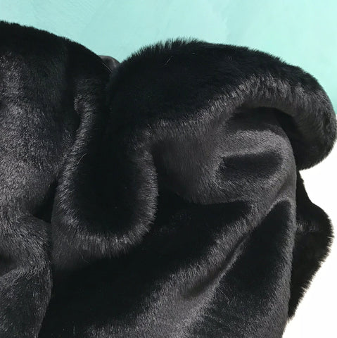 15mm Black - Faux Fur - 2K17