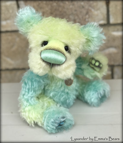Lysander - 20 Years of Emma's Bears Commemorative Teddy - OOAK in a series