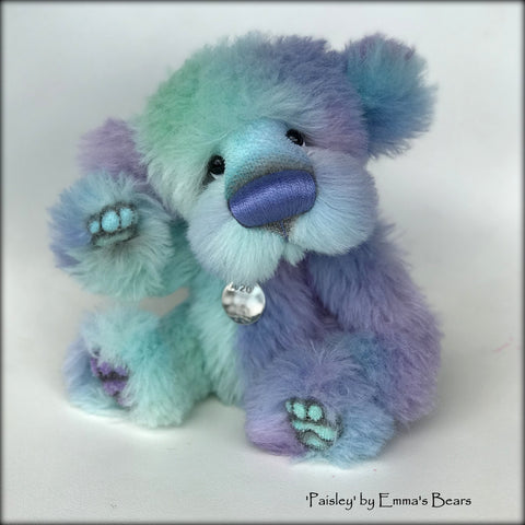 Paisley - 20 Years of Emma's Bears Commemorative Teddy - OOAK in a series