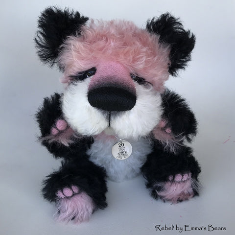 Rebel - 20 Years of Emma's Bears Commemorative Teddy - OOAK in a series