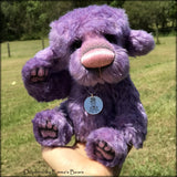 Delphine - 20 Years of Emma's Bears Commemorative Teddy - OOAK in a series