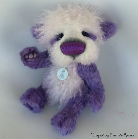 Utopia - 20 Years of Emma's Bears Commemorative Teddy - OOAK in a series