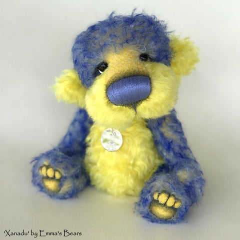 Xanadu - 20 Years of Emma's Bears Commemorative Teddy - OOAK in a series