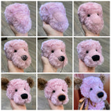 "KIT - 17"" ROSA bear in curly kid mohair"