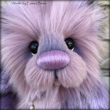 "Abeille - 12"" faux fur Artist Bear by Emma's Bears - OOAK"
