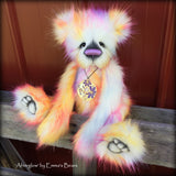 "KITS - 17"" Afterglow faux fur bear"