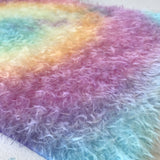 Chelsea's Fur - Hand Dyed Short Sparse Mohair - 1/8m - AUG023