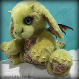 Autumn Leif DRAGON - 15in MOHAIR Artist Baby Dragon by Emmas Bears - OOAK