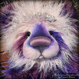 "Belladonna Berrybreath - 28"" Faux Fur Artist Bear by Emmas Bears - OOAK"