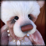 "Bounty - 22"" large hand-dyed ALPACA artist bear  - OOAK by Emma's Bears"