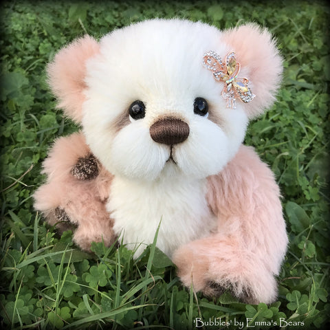 "KITS - 9"" Bubbles Artist Alpaca Bear by Emma's Bears"