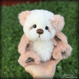 "Bubbles - 9"" Long-pile Alpaca Artist Bear by Emma's Bears - OOAK"