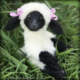 "Bunty - 13"" kid mohair Easter Lamb by Emma's Bears - OOAK"