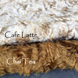 Cafe Latte - Curly Mohair