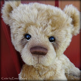 Cedar - 23IN gold mohair bear by Emmas Bears - OOAK