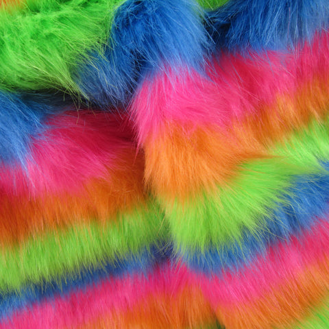 Clowns Colar- Faux Fur