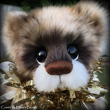 "KITS - 13"" Comet faux fur Christmas bear"