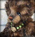 "Cookie - 13"" kid mohair artist bear  - OOAK by Emma's Bears"