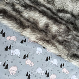 Bonne Nuit Sleeping Bear Quilters Cotton