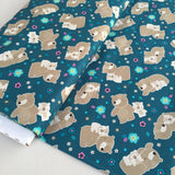 Mama and Me Snuggle Bears Quilters Cotton