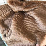 Sandstorm - dense wavy crimped mohair/viscose blend fur - VERY LIMITED STOCK