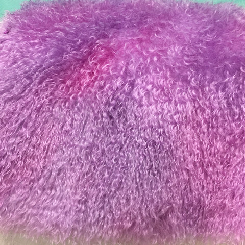 Curlylocks Berry Smash - Hand Dyed mohair - 1/4m - FY018
