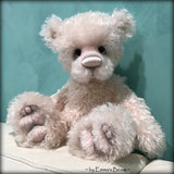 Toddler Madison Mavis - 18in hand-dyed pink MOHAIR Artist Bear by Emmas Bears - OOAK