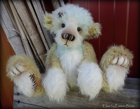 "KITS - 10"" Elias mohair bear"