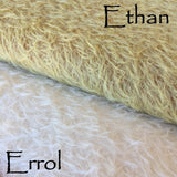 Errol - 16mm antique style matted Mohair - White