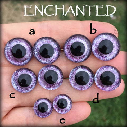 Hand Painted Eyes - Enchanted