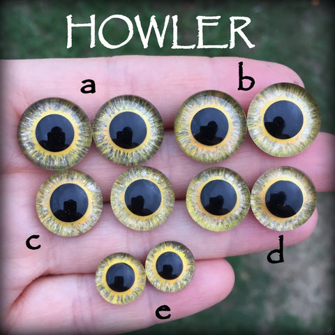 Hand Painted Eyes - Howler